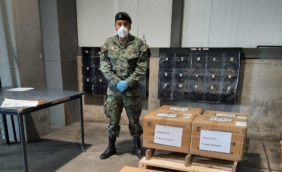 donaciones por emergencia de parte de sinotruk internacional a ecuador