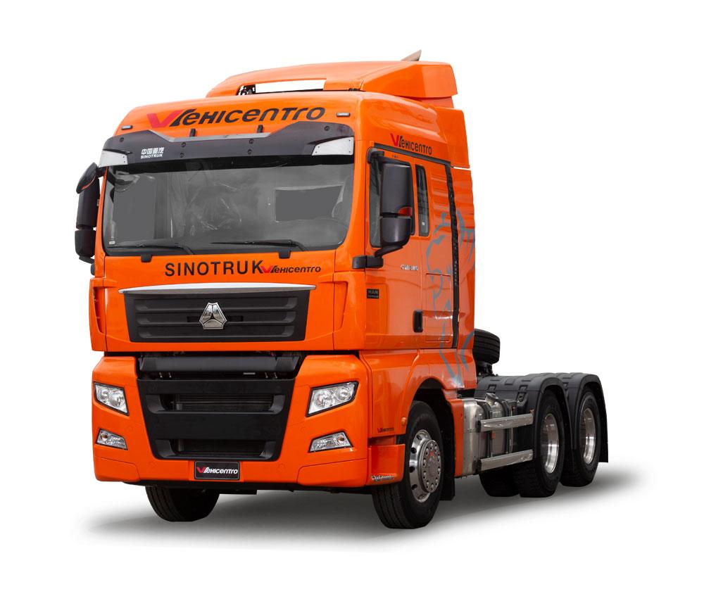 cabezal sinotruk c7h 540 naranja vehicentro distribuidores de camiones en ecuador