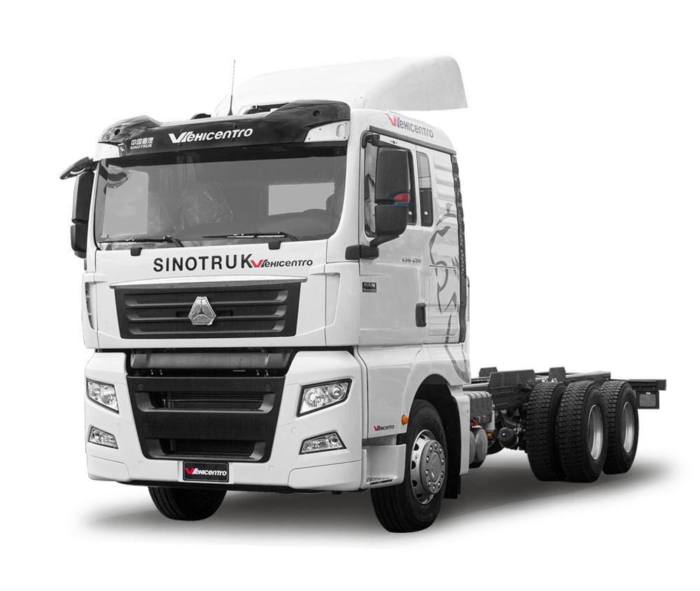 camion sinotruk 1256 blanco vehicentro distribuidores de camiones en ecuador
