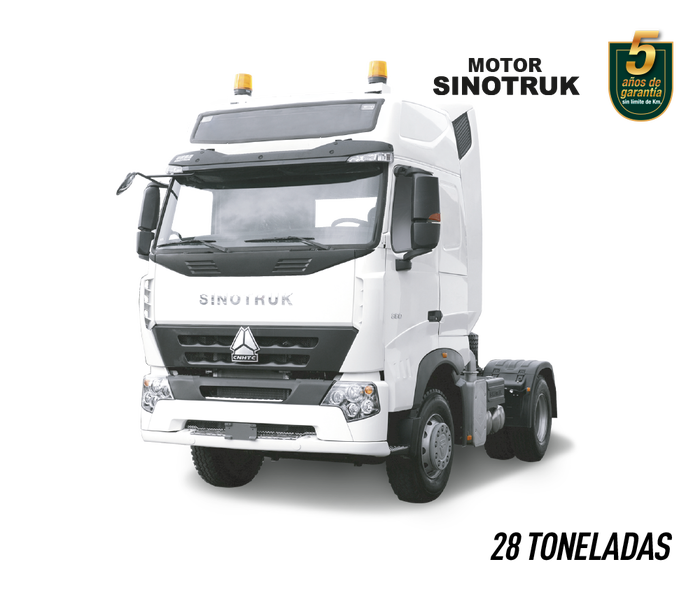 Cabezal A7 380 blanco 28 toneladas sinotruk vehicentro ecuador