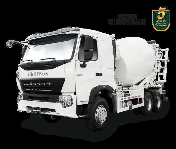 mixer A7 1257 blanco sinotruk vehicentro ecuador