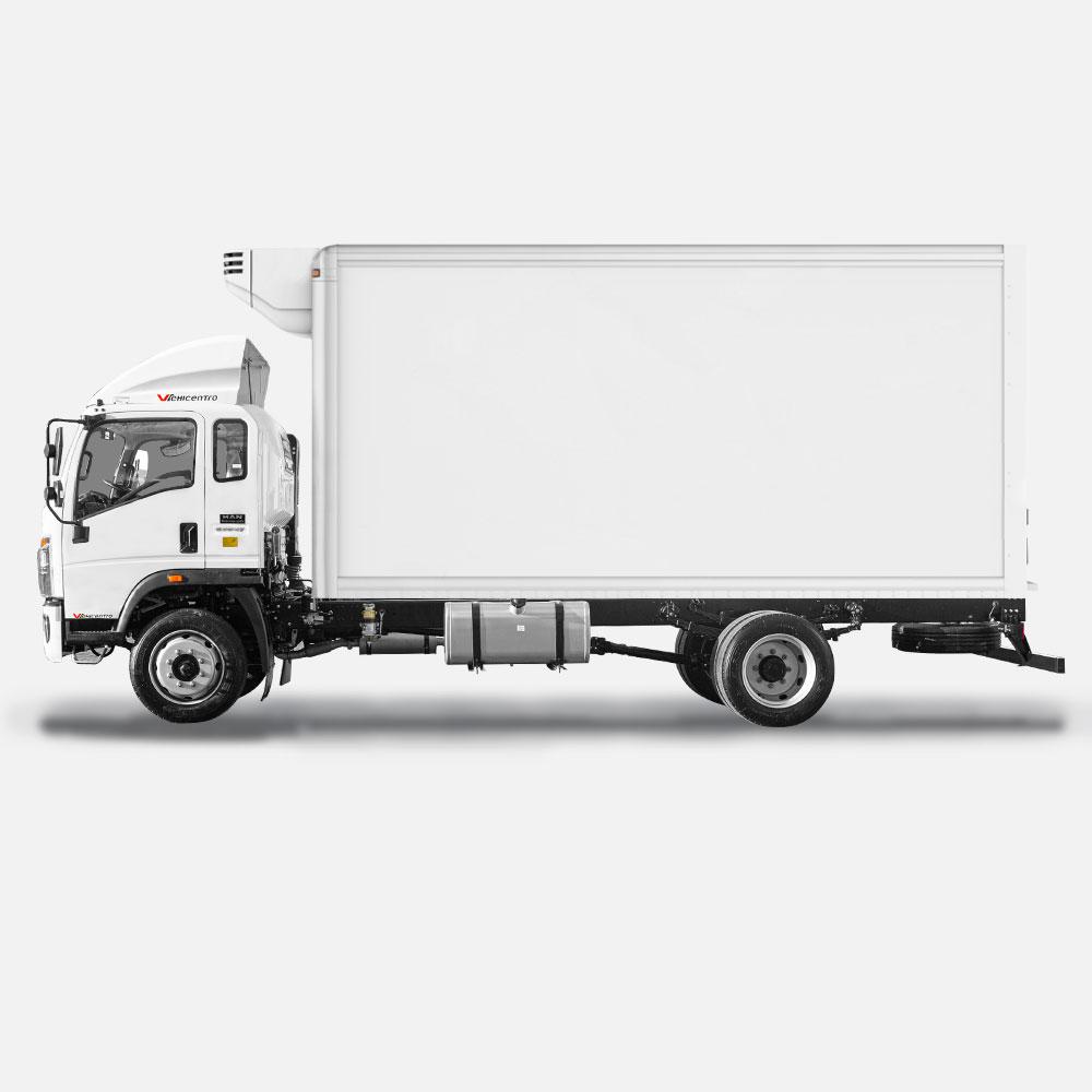 aplicacion 2 del camión de 8 toneladas