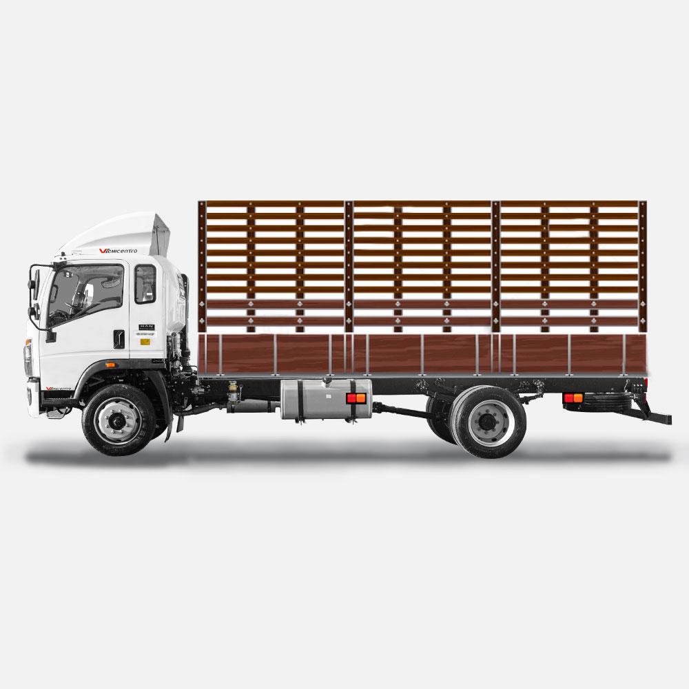 aplicacion 3 del camión de 8 toneladas