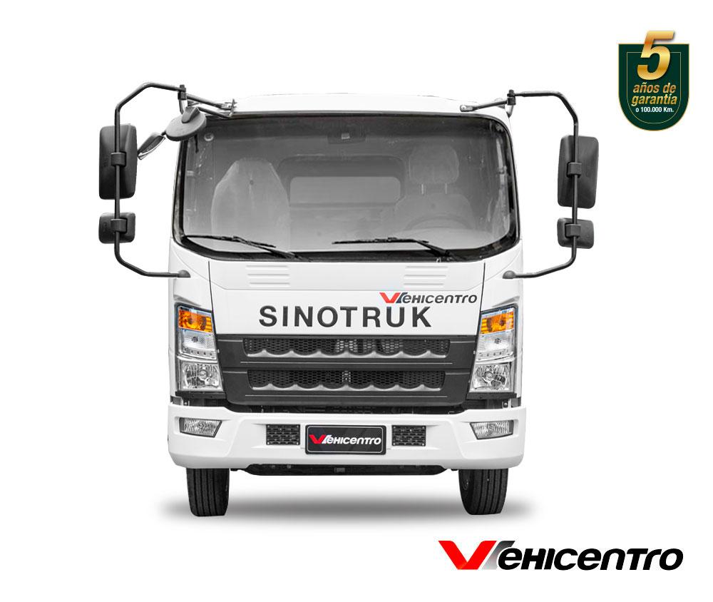 camion de 3.5 toneladas de frente