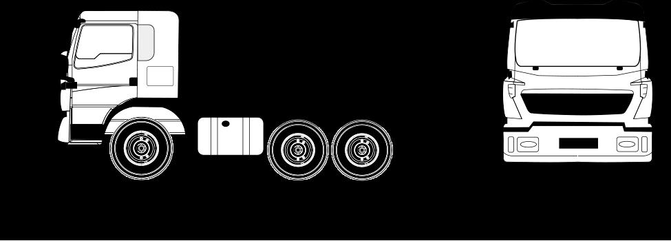 Dimensiones camion 6x6