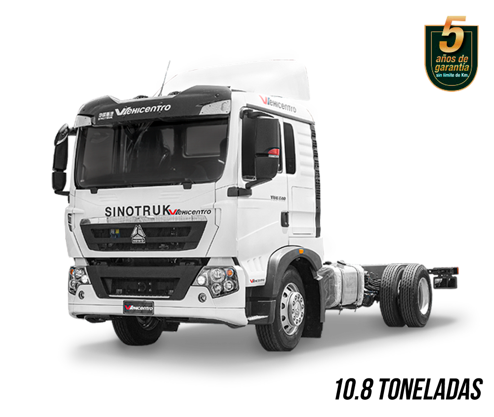camión de 10.8 toneladas